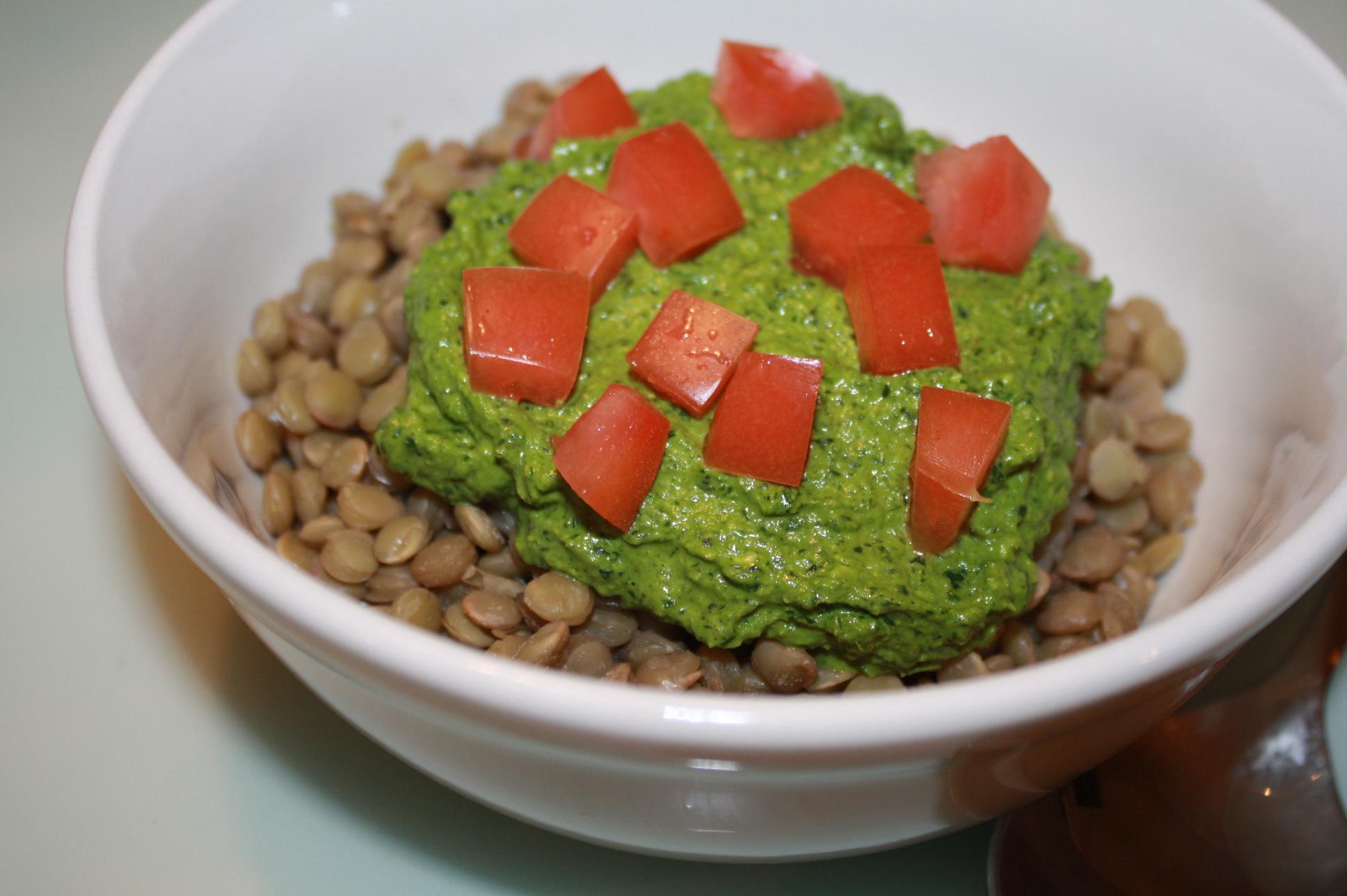 Lentil Pesto Pasta Recipe | Celebrity Personal Trainer | Fadi Malouf ...