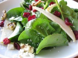 Pear and Spinach Salad photo 2