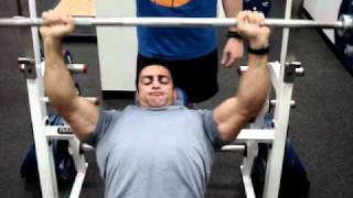 Let's Superset! Chest and Back